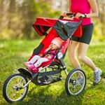 """Moms and dads on the run may want to add a jogging stroller to their """"team baby"""" workout gear. Here's how to find the right ride for your little running mate. Jogging Stroller, Stroller Strides, Baby Workout, Workout Gear, Baby Fat, Baby Body, Baby Jogger, Sensory Activities, Challenges"""
