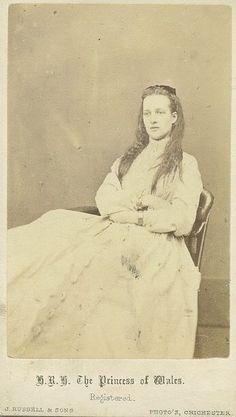 The Princess of Wales, Alexandra.