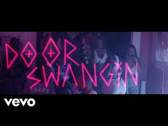 """2 Chainz is joined by the crew and a bunch of pretty girls at his pink trap house in the new visual for """"Door Swangin,"""" off the Pretty Girls Like Trap Music tape. Gucci Mane & 2 Chainz – That's It 2 Chainz, Def Jam Recordings, Rap God, Gucci Mane, Trap Music, My Favorite Music, Song Lyrics, Music Videos, 1"""