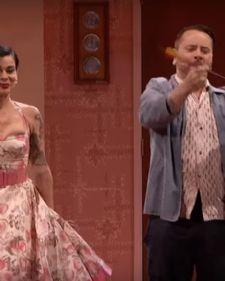 Ovaj mladi par prijavio se na audiciju emisije ''Amerika ima talenat'', a na njihovom finalnom nastupu greška ih je umalo koštala života.