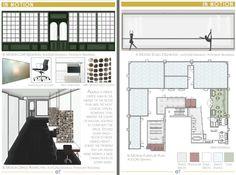 keen on design: Interior Design Portfolio Event Interior Design Portfolios, Interiores Design, Portfolio Design, Interior Inspiration, College Graduation, Presentation, Floor Plans, Architecture, Single Moms