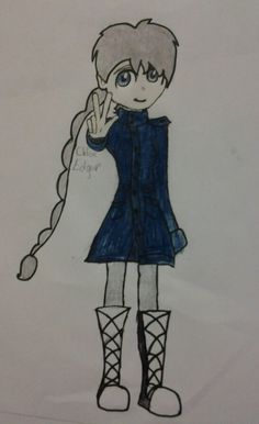 Just another pic of my Soul Eater OC :3