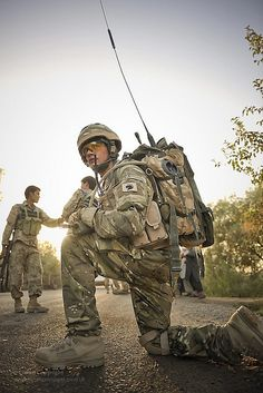 Soldiers from C Company The Royal Dragoon Guards on Patrol in Afghanistan by Defence Images, via Flickr