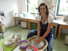 Course at the potter's wheel