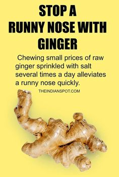 Natural Home Remedies Home remedies for runny nose! - A runny nose is a very common and annoying problem. Runny nose (rhinorrhea), as the name suggests, refers to a condition when your nostrils keep on discharging a fluid. It happens due to congestion an Homemade Cold Remedies, Cold Remedies Fast, Cold And Cough Remedies, Home Remedy For Cough, Natural Cold Remedies, Flu Remedies, Herbal Remedies, Bronchitis Remedies, Health Remedies