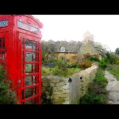 Phone Booth clicked and rendered through #AurynCam, FREE app for #iPhone #iPod Touch, via Flickr