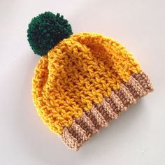 New Born Pineapple Beanie