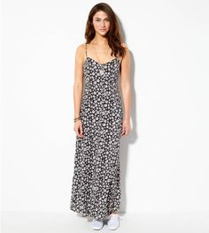 Floral AE Printed Maxi Sundress #EastwoodPinPals