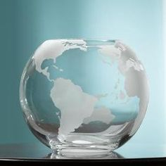 Etched Glass Globe Fishbowl, Allison Jacobs, this is for you.