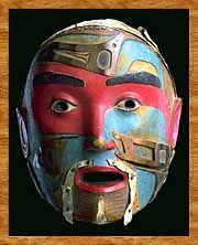 Haida mask✖️More Pins Like This One At FOSTERGINGER @ Pinterest✖️