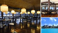 "5 Star Diamond Restaurant ""Lagoon"" in Bora Bora, French Polynesia"