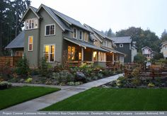 Pocket Neighborhoods: Ross Chapin Explains The Thought Behind These Clustered Homes (PHOTOS)