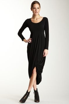Gracia Long Sleeve Empire Waist Dress