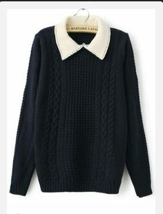 blouse peter pan collar collar top sweater cute
