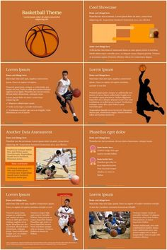 That is another wonderful basketball Powerpoint template, which is great for basketball game theme. This modern PowerPoint layout of orange and brown colors will permit you to provide a exceptional presentation instantly. Game Themes, Brown Colors, Creative Powerpoint Templates, Lorem Ipsum, Presentation, Basketball, Layout, Orange, Modern