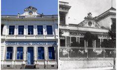 relogio daEscola Municipal Gonçalves Dias em São Cristovão RIo RJ - Pesquisa Google A fachada da Escola Gonçalves Dias em registros de hoje e do século XIX