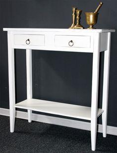 Wandtisch küche  Telefontisch Konsolentisch Wandtisch Beistelltisch Flurtisch weiß ...