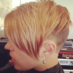 (via .@undercutsrule   BlondieBu Stunning Haircut and Color! VeryShort BuedNape #undercut credit: @…   Webstagram - the best Instagram viewer)