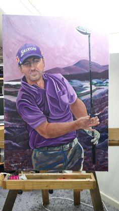 RT good luck this morning i hope u like the portrait. Golf Art, Good Luck, Baseball Cards, Cool Stuff, Portrait, Twitter, Art, Best Of Luck, Cool Things