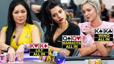 Mamacita CRUSHES the Table ♠ Live at the Bike! World Poker Tour, Ladies Night, Real People, Crushes, Social Media, Bike, Youtube, Table, Bicycle