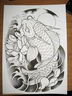 2012 koi dragon inking
