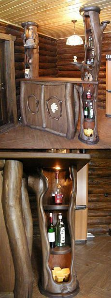 Something you would find in an ole' tavern Beautifully made