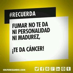 Fumar=cáncer