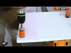 CMT hole saw 552 on OKITE® and SILESTONE®