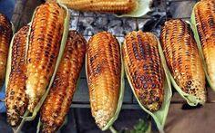 Maïs braisé