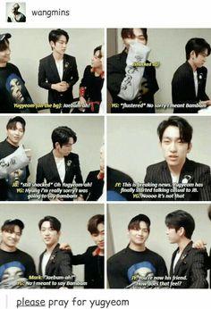 Read from the story La Kpop ? by (Yoonjin) with reads. -Yg : Jaebum-ah ! Got7 Funny, Got7 Meme, Funny Kpop Memes, Hilarious, Girls Girls Girls, Kim Yugyeom, Youngjae, Jaebum, Jinyoung