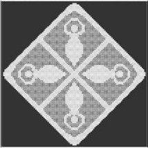 Goddess Square Alter Cloth Fillet Crochet Pattern