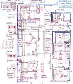 过去几年住过的酒店客房手绘平面_MT-B... Interior Design Layout, Interior Design Presentation, Layout Design, Small House Plans, House Floor Plans, Electrical Layout, Electrical Wiring, Block Plan, Resort Plan