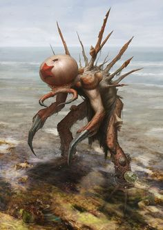 """""""Low Tide Beast"""" by Quentin Castel."""