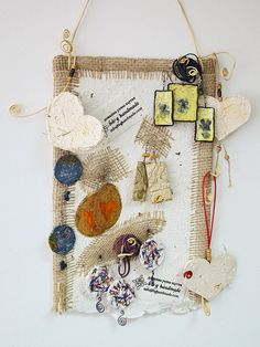 Handmade panel for jewelry by Boby Dimitrov, via Flickr