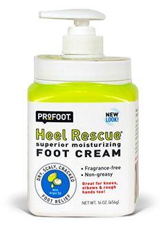 PROFOOT Heel Rescue Foot Cream, 16 oz (Pack of 3)