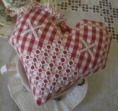 un cuore rosso by lavori di Silvia, via Flickr