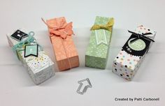 SALE-A-BRATION boxes featuring Stampin' Up! Sweet Sorbet designer series paper (DSP) #StampinUp