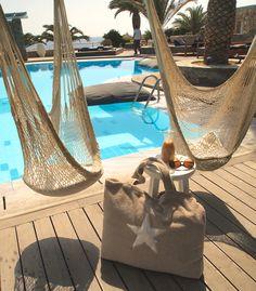BYRH Beach Bag - Pool, Hotel San Giorgio, Mykonos, Greece