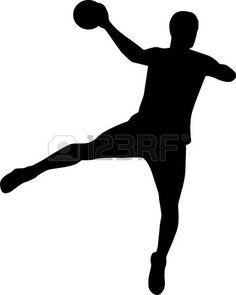 Handball Players, Sport Cakes, Badminton, Logo Design Inspiration, Hands, Silhouette, Photos, Images, School
