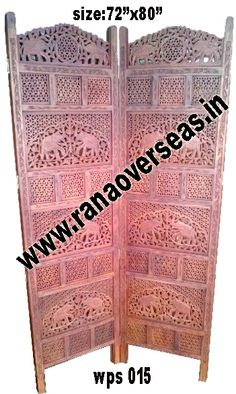 Wooden Partition Screen Wooden Partition Screen, Room dividers are often used in commercial offices or homes to seperate rooms or to block light.Developed from high quality sheesham wood and these partitions stand only in zig zag position.Deciding on the right wood folding screen is simply a matter of personal taste.  Wooden room divider screens are very popular.