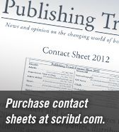 Top 5 Publishing Articles/Blog Posts of the Week 1/27-1/31 - Publishing Trends - - - This website updates weekly with new information on a range of topics from the publishing world. The range is impressive, with recent articles including emerging laws regarding ebooks, current popular genres, and who is buying up print publishing companies. It will be very helpful in staying aware of current trends and events.