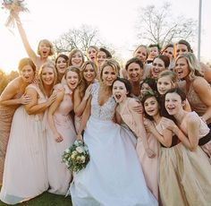 Taylor was the maid of honor at her best friend Brit Maack's wedding!