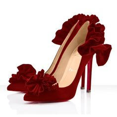 louboutin red shoes