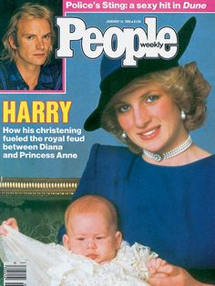 10 of Princess Diana's Best-Remembered PEOPLE Covers | JANUARY 1985: A WINDSOR WAR | The christening of Prince Harry should have been an entirely happy occasion. But there was a cloud on the day after Princess Anne and her husband Mark Phillips didn't appear for the festivities, sending their children Peter, 7 and Zara, 3 in their place. The rumored reason for the tiff? Anne hadn't been named as a godparent for either William or Harry.