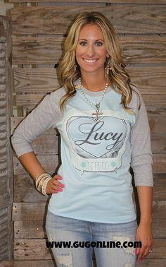 Best Friend Baseball Tee - Lucy $42.95 XSmall-XL  www.gugonline.com
