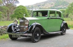 1935 Rolls-Royce 20/25 Barker Saloon GPG49...Brought to you by Eugene #CarInsurance and #HouseofIns.
