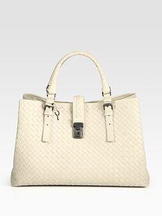 Hello, Unicorn. Rarely do I like white/cream coloured bags... but this one is lovely. Bottega Veneta Woven Leather Tote $3531 at Saks.