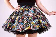 girl, skirt, and cool image
