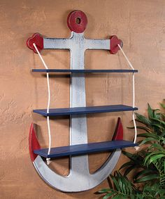 Look at this Anchor Shelf on #zulily today!