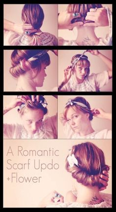 hairstyles tutorial: Sweet Summer Hairstyle Tutorial